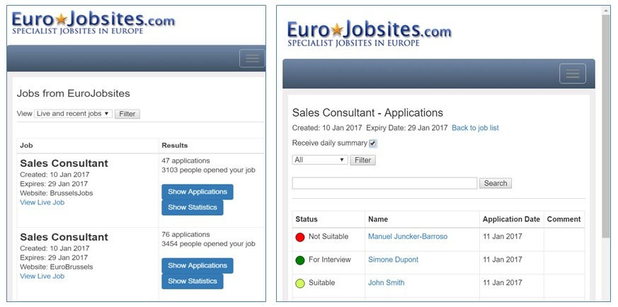 Applican Tracker