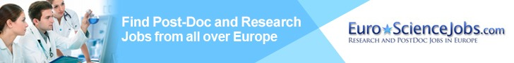 Find Research and Post-Doc Jobs from all over Europe with EuroScienceJobs